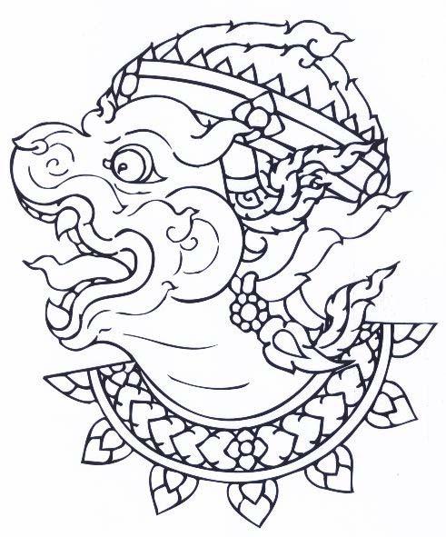 LORD HANUMAN RAMAYANA MONKEY KING MUAY THAI LIFE PROTECTION MINI AMULET TALISMAN image 6