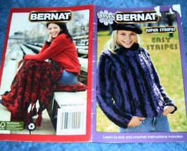 Bernat Bonus Book, Super Stripes, Easy Stripes Patterns - $3.00