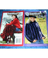 Bernat Bonus Book, Super Stripes, Easy Stripes Patterns - $3.00
