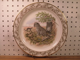 Snow Leopard Collector Plate - Lenox Fine China Nature's Nursery Collection - $16.58