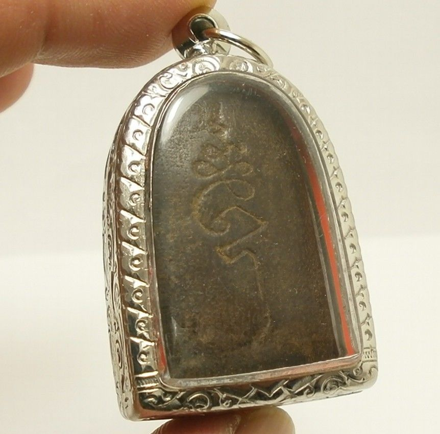 REAL THAI ANTIQUE AMULET LP BOON BUDDHA BLESSING LUCKY RICH HAPPY LOVE LONG LIFE image 5
