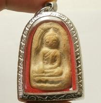 THAI BUDDHA AMULET SOOMGOR LUCKY HAPPY RICH MONEY WEALTH PENDANT SIAM NICE GIFT image 1