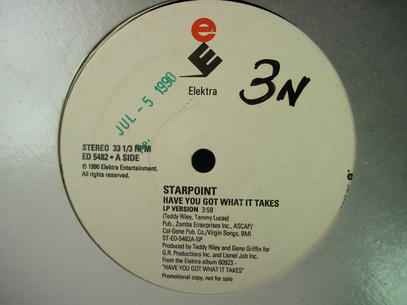 "Starpoint - Have You Got What It Takes - Elektra ED 5482 - 12"" Single"