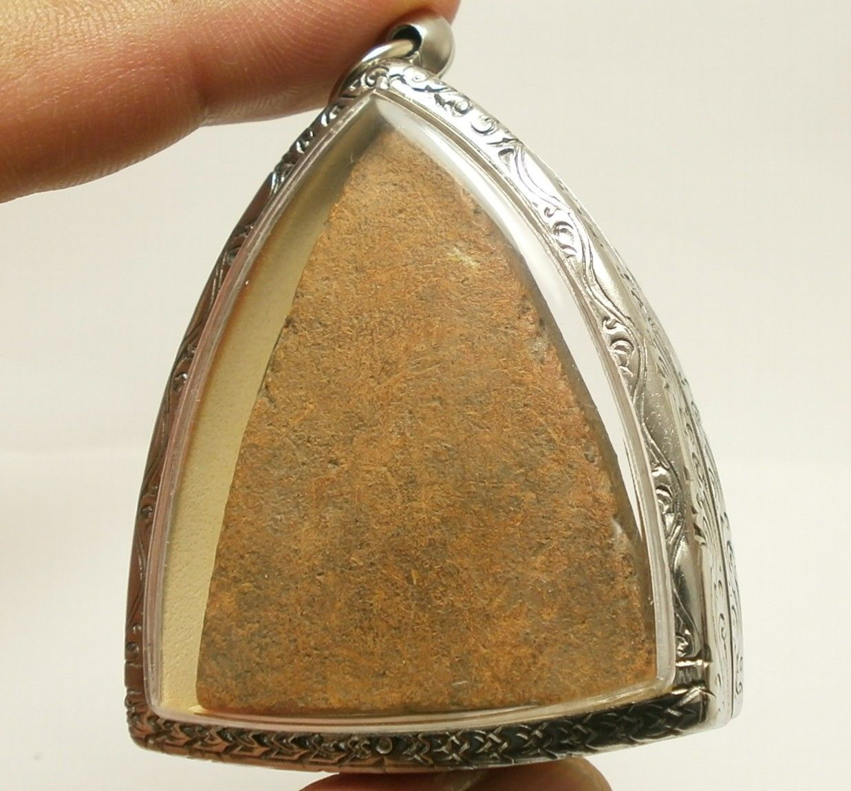 LORD BUDDHA TRIPLE BLESSING AMULET THAI REAL POWERFUL SUCCESS LUCKY RICH PENDANT image 5