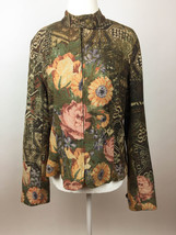 Coldwater Creek Floral Jacket - M - $17.77