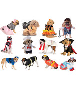 Dog Halloween Costume Pet Costumes Rubies Police Fireman Poodle Skirt Va... - $13.99+