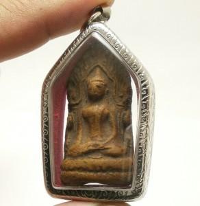 LORD BUDDHA SHINARAJ DHARMA THAI ANTIQUE AMULET LOVE SUCCESS WEALTH RICH PENDANT image 5