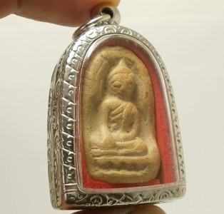 THAI BUDDHA AMULET SOOMGOR LUCKY HAPPY RICH MONEY WEALTH PENDANT SIAM NICE GIFT image 5