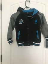 U.S. Polo ASSN Boy's Hooded Sweat Jacket Sz 5/6 - $77.40