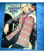 Coats & Clark's, Fashion News Book #206 Knit & Crochet - $3.50