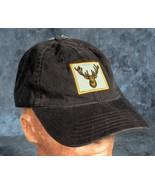 Brown Deer Head (Deer head is yellow)  Adjustable baseball Cap Hat NWT - $5.00