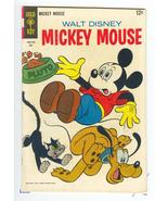 Mickey Mouse No 117 Comic 1968 GOLD KEY 12 cent Walt Disney - $4.59