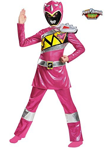 Pink Ranger Dino Charge Deluxe Costume for Kids
