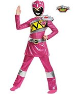 Pink Ranger Dino Charge Deluxe Costume for Kids - $37.61