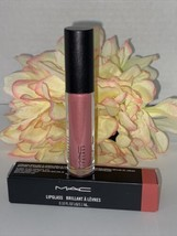 MAC Lipglass Gloss Color - 307 Cultured - Full Size NIB Authentic Fast/F... - $17.77