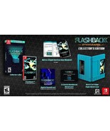 Flashback 25th Anniversary Collector's Edition Nintendo Switch Free Ship... - $45.53