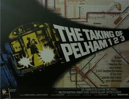 The Taking of Pelham One Two Three - Walter Mathau - Movie Poster - Framed Pictu - $32.50
