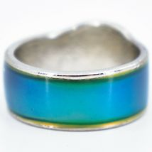 Baby Elephant Shape Children's Color Changing Fashion Mood Ring image 5