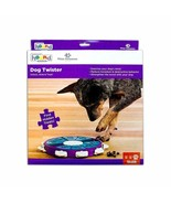 Dog Twister Interactive Toy Treat Dispenser Game Nina Ottosson Sweden Le... - $24.24