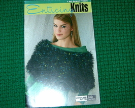 Leisure Arts Little Books, Enticing Knits to Knit  - $3.00
