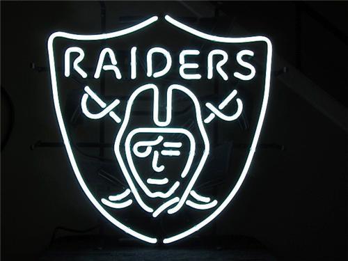 NFL Oakland Raiders Football Beer Bar Neon Light Sign 15