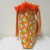 NWOT Large Custom Bag Daddy Orange Retro Shoulder Bag Shoppers Tote image 2