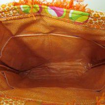 NWOT Large Custom Bag Daddy Orange Retro Shoulder Bag Shoppers Tote image 7