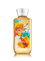 Bath & Body Works  WILD HONEYSUCKLE Shower Gel 10 oz / 295 ml (Pack of 2)  - $37.00
