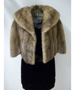 Soft Silky Tan Mink Cape by Stanley Furs Size Medium - $234.00