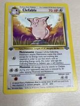 *Mint-NM* Pokemon Card Clefable 1st Edition Jungle Non Holo Rare 17/64 - $29.70
