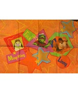 HTF Wonder Pets 3-piece Toddler Sheet Set Nickelodeon Crafts Fabric - $79.99