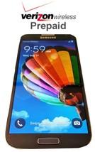 Unlocked Verizon Prepaid Samsung Galaxy  S4 16GB 4G LTE - No contract with SIM - $109.99