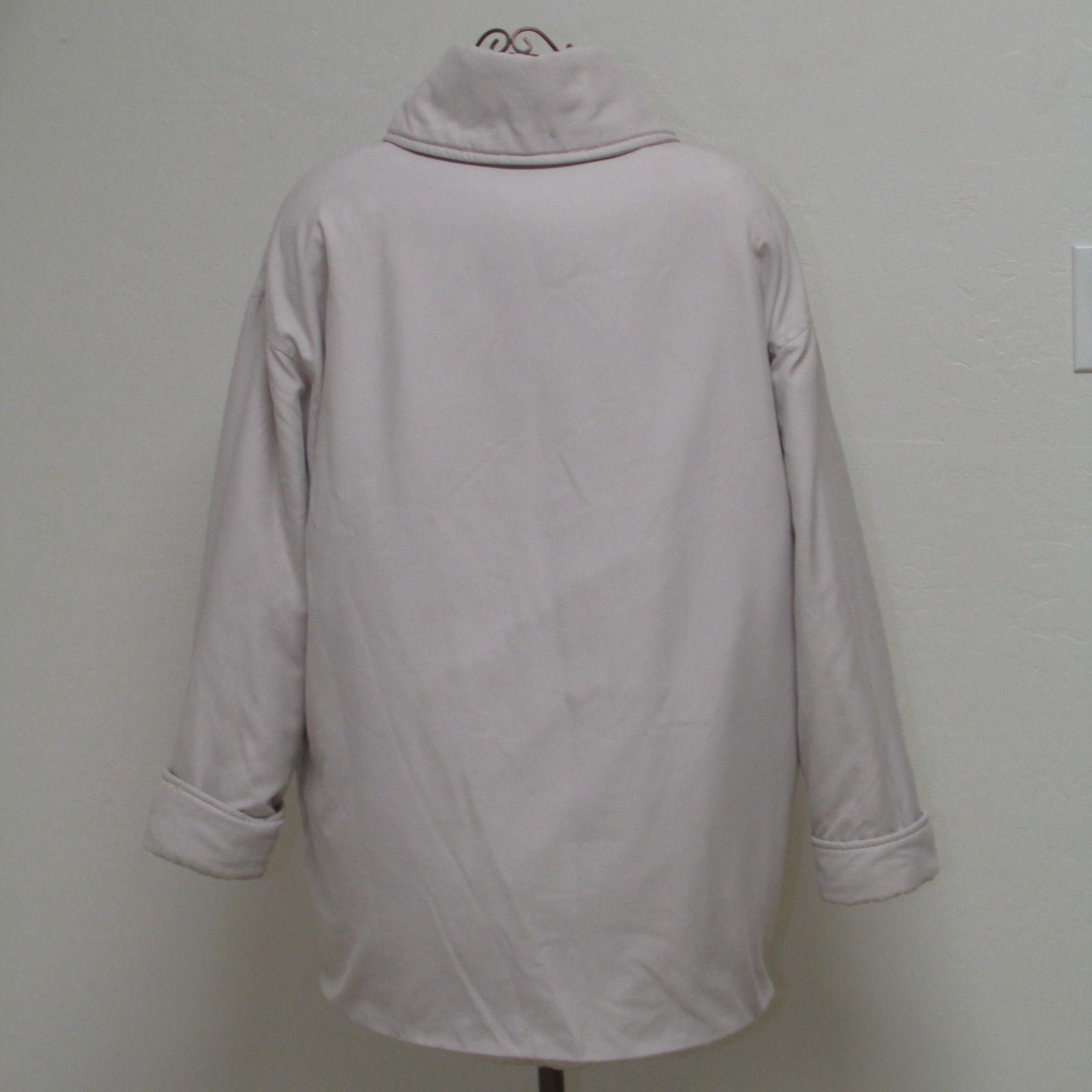 Evan Picone Light Tan Women's Thigh Length Coat Size M image 2