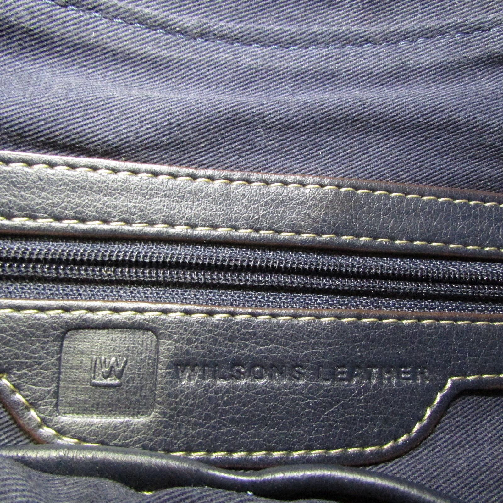 Wilsons Navy Blue Baguette With Silver Slide Lock image 2