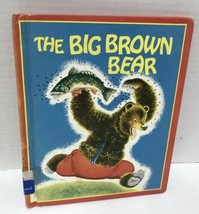 The Big Brown Bear Vtg 1976 Hardcover Childrens Book - $7.91