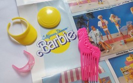 California Barbie Doll  Accessories pre-owned play toys great condition - $8.56