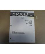 1987 Forza Fuoribordo Parti Catalogo 4 hp sia 4096 OEM Barca 87 - $6.95