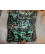 """Vera Bradley Fleece  TRavel Blanket 60"""" x 45"""" in Fan Flowers - $35.00"""
