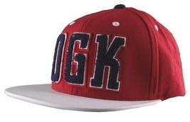 DGK Dirty Ghetto Kids Mens Red White Navy Graduate Snapback Baseball Hat NWT image 2