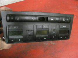 02 03 01 00 Audi A8 climate control heat heater switch unit 4d0820043 - $24.74