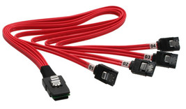 InLine 27620 SATA cable 0.5 m Red - $51.15