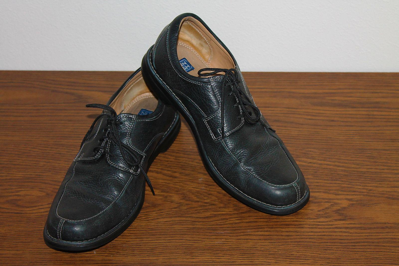 Nunn Bush Colton Mens Size 9M Tumbled Leather Sheepskin Lining Walking Shoes - $29.69