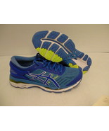 Asics women's gel kayano 24 blue purple regatta blue running shoes size 9.5 - $118.75