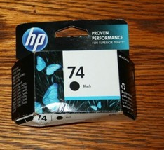 74 HP BLACK ink OfficeJet J6480 J6450 J5780 J5750 J5740 DeskJet D4360 pr... - $16.01