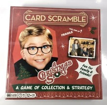 NEW A Christmas Story CARD SCRAMBLE Board Game Kids Adults Family - $17.05