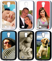 Personalized Samsung Galaxy S4 Custom Photo Hybrid Hard Plastic/RUBBER C... - $13.95