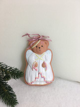 Cherished Teddies Ornament 1995 Cookie Mold Angel NIB - $19.75