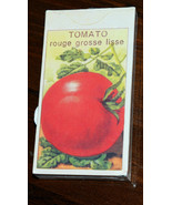HomArt Match Box TOMATO and LETTUCE seed packages Set of 2    NEW! - $12.69