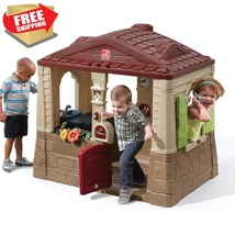 Neat & Tidy Cottage Unisex Outdoor Playhouse Toddler Children Kids Fun P... - $242.77