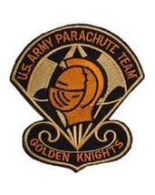 US Army Parchute Team Golden Knight Patch - $9.89